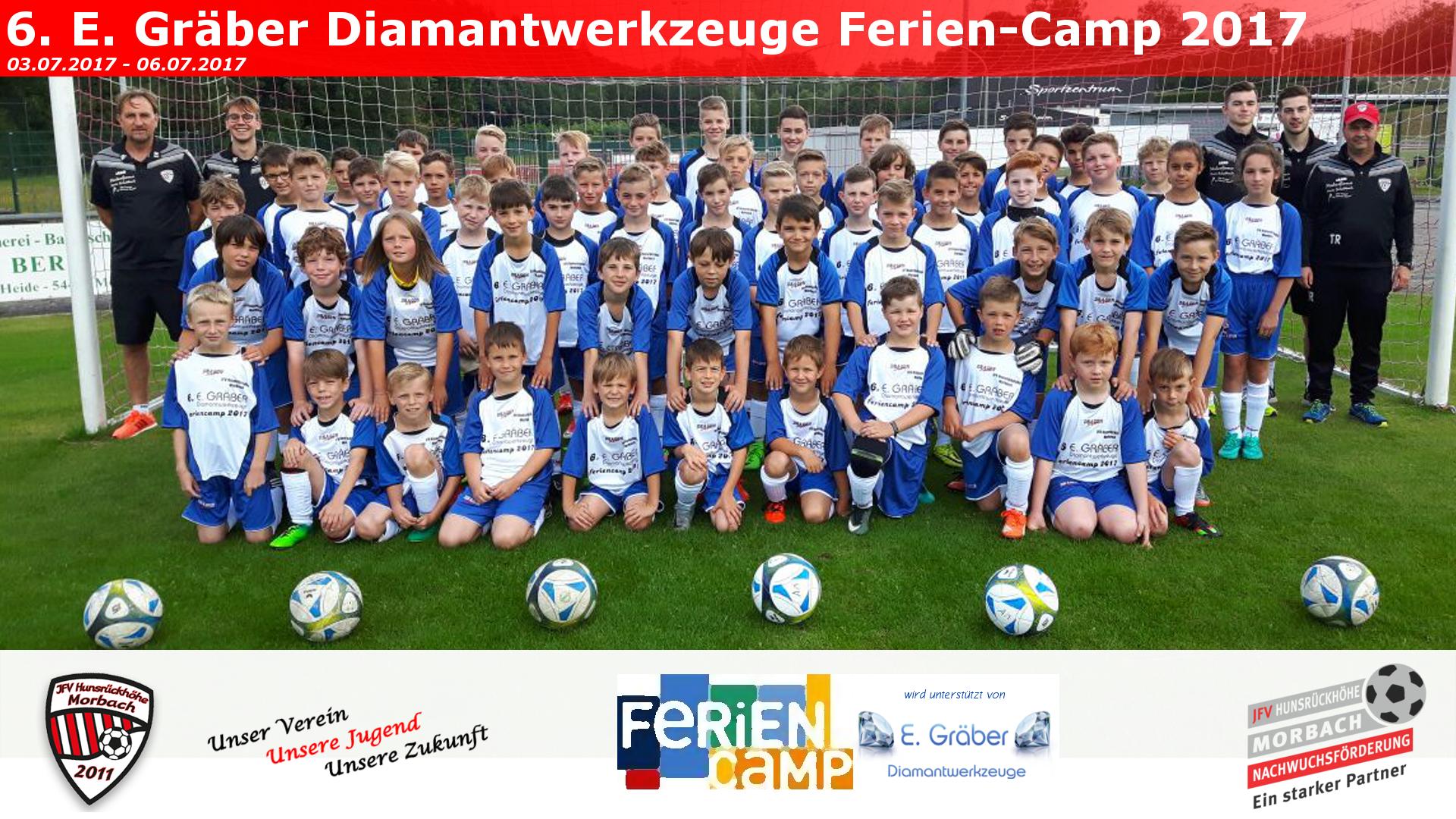 6. E. GRÄBER DIAMANTWERKZEUGE FERIEN-CAMP 2017